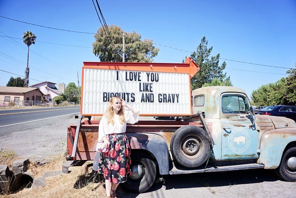 freemont diner truck in napa valley