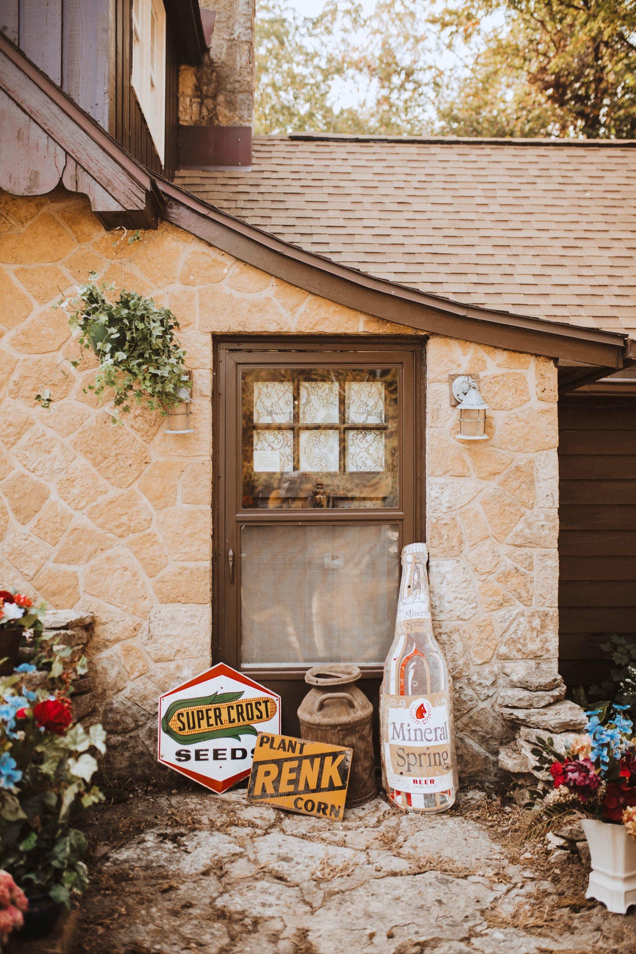 wedding decor outdoor vintage boho rustic signs