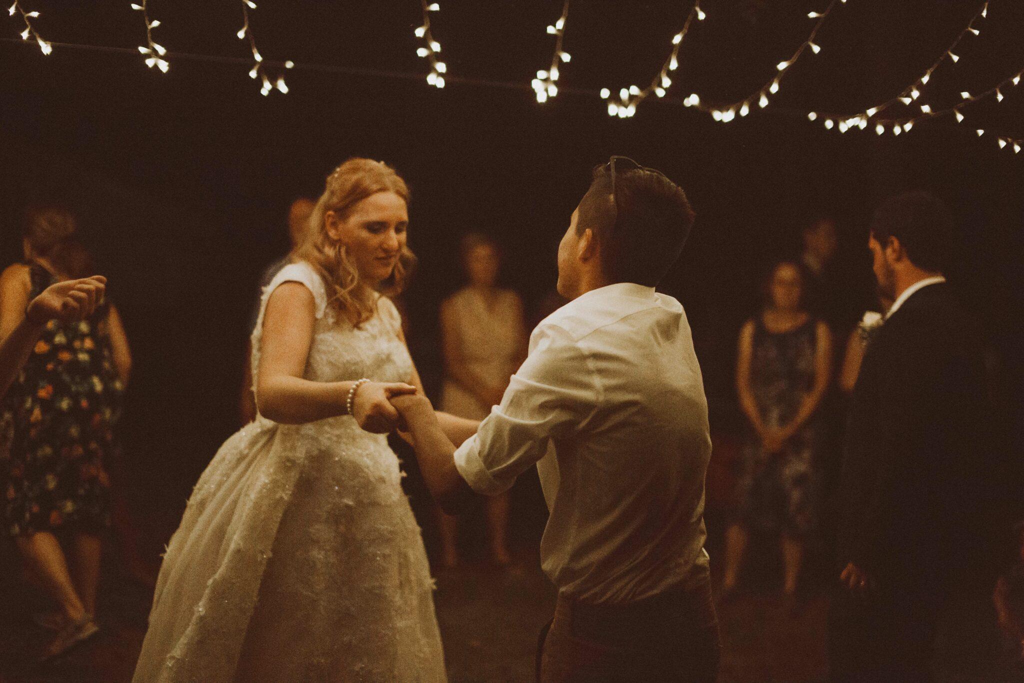 wedding dancing bride cousin