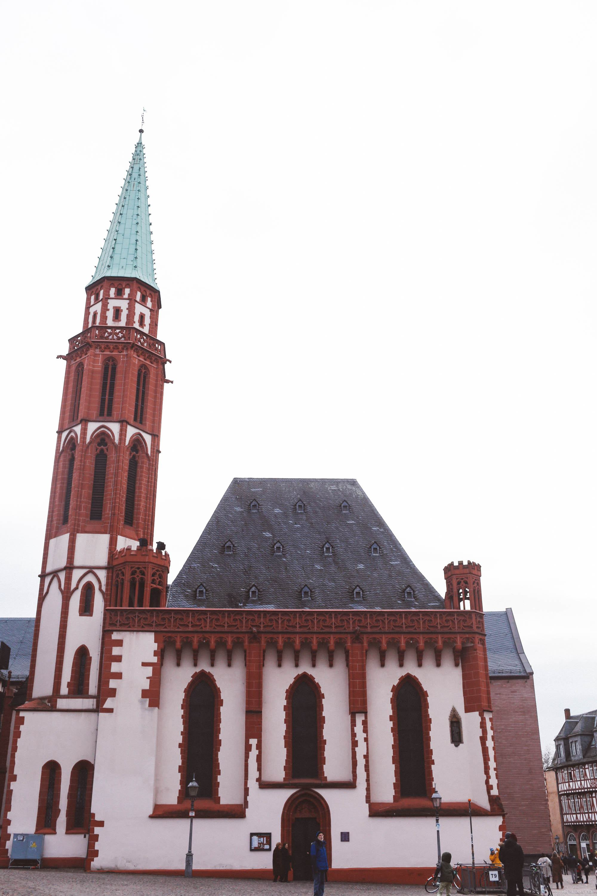 frankfurt germany romer church