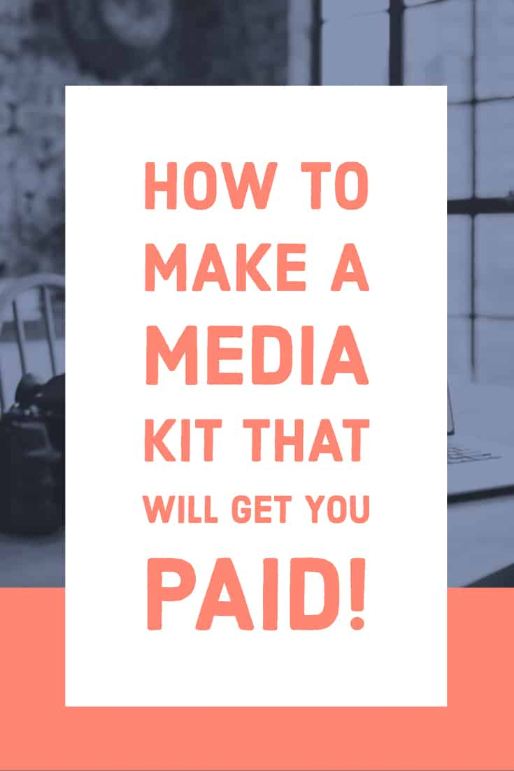 How To Make A Media Kit For Your Blog A Free Template Whimsy Soul