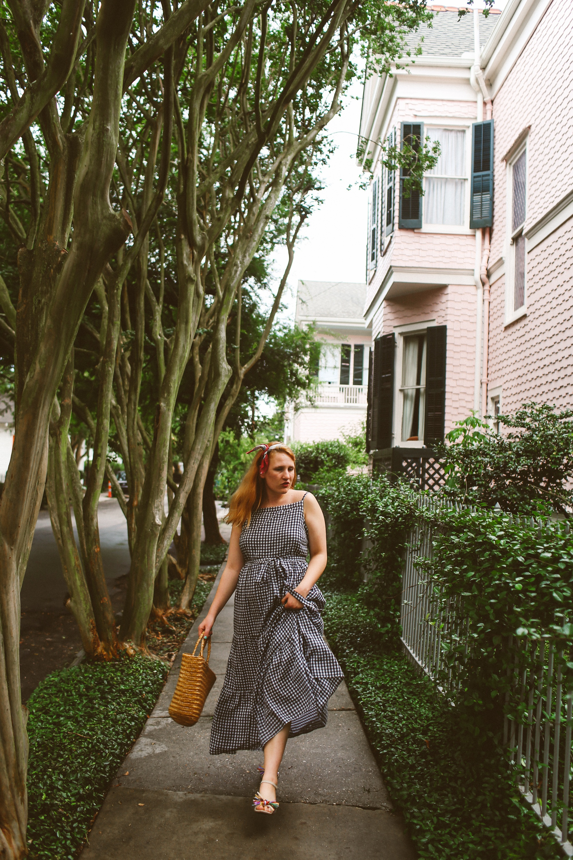 Gingham In The Garden District