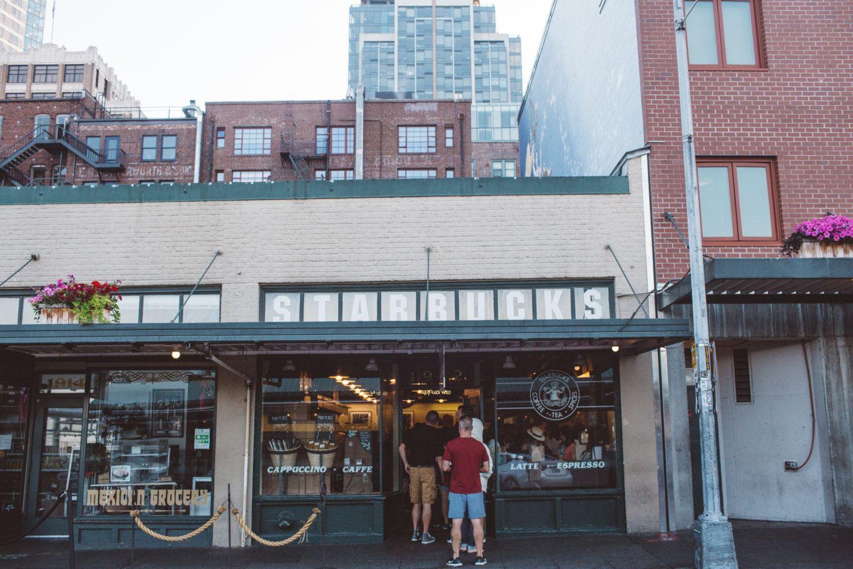 Inside the Seattle Original Starbucks