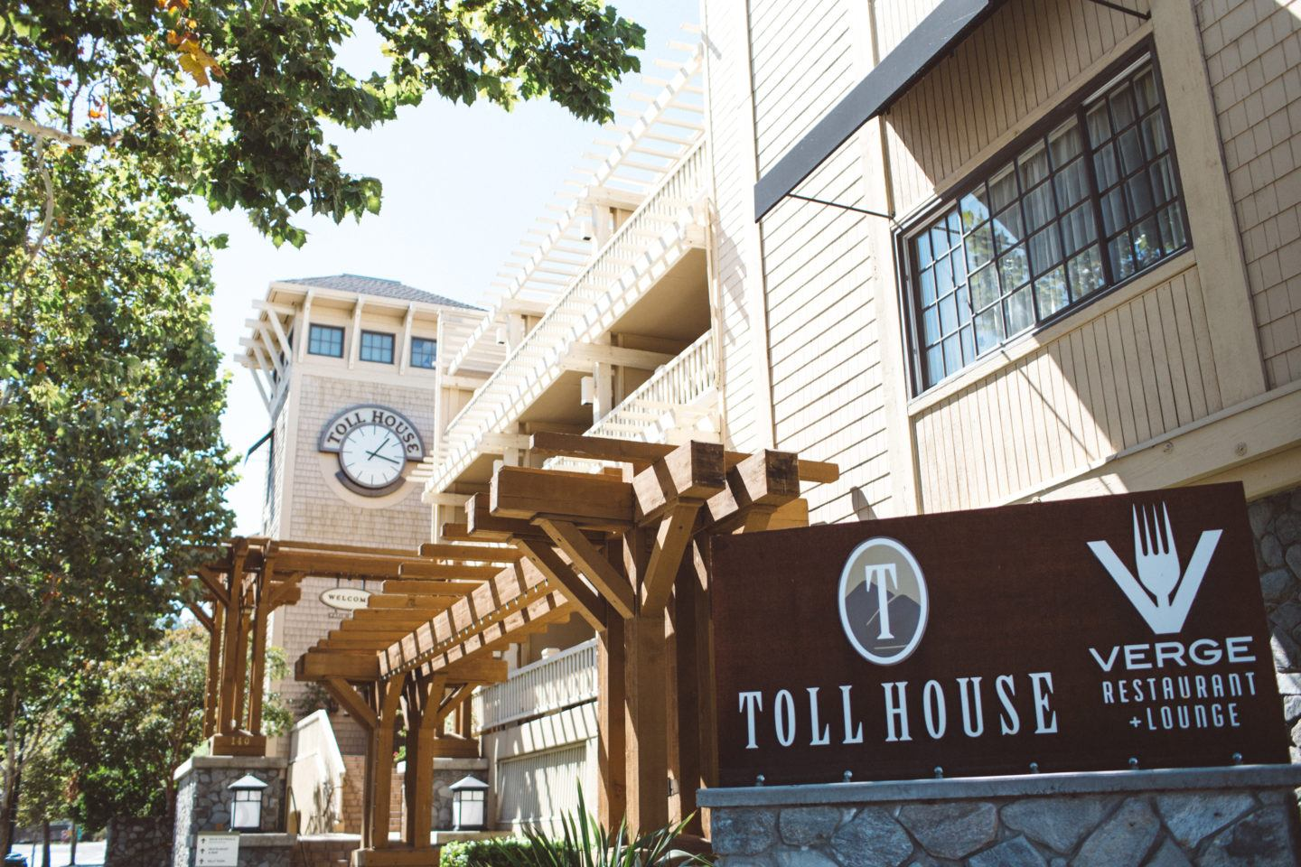 Toll House Hotel in Los Gatos