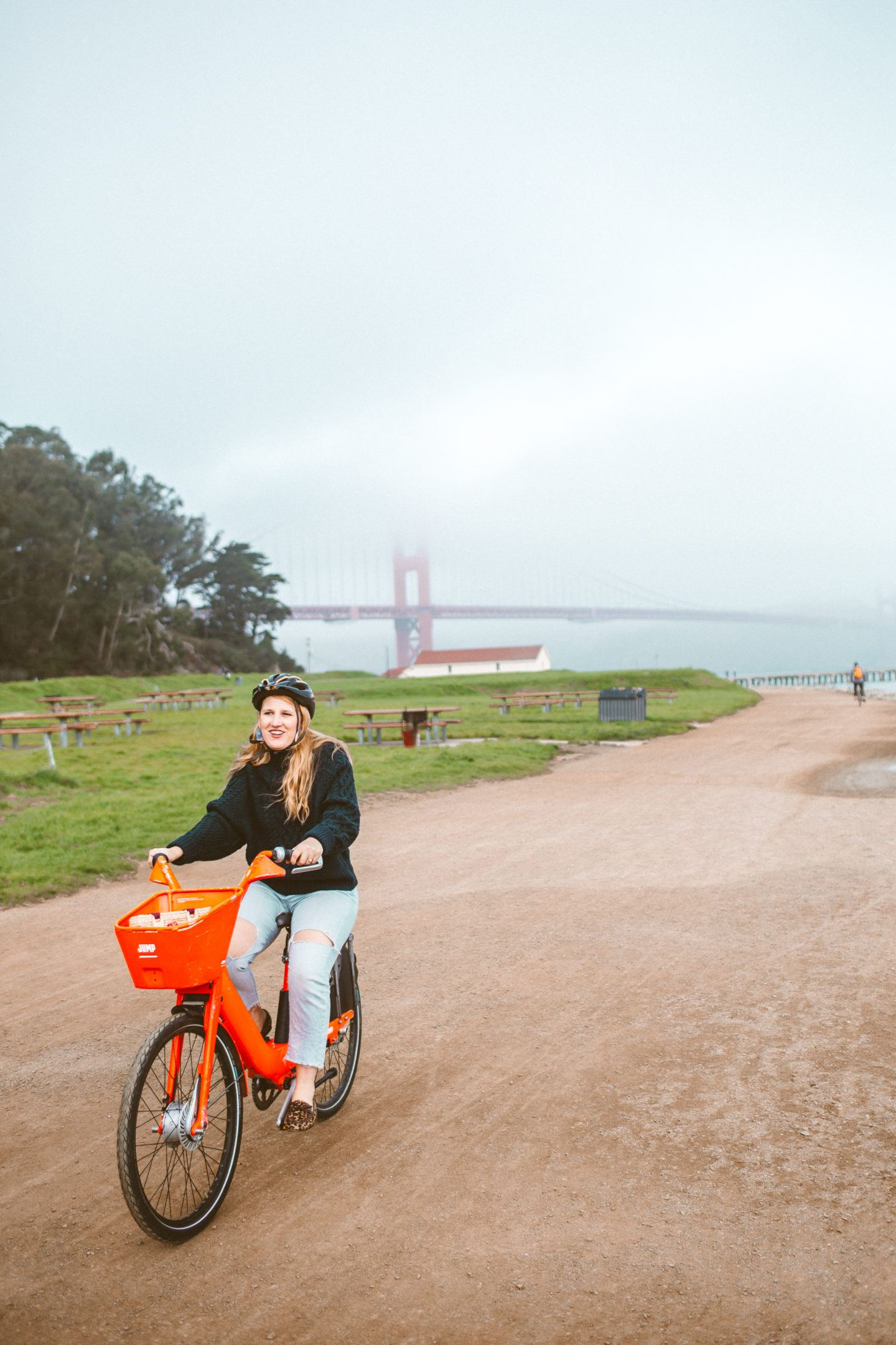 Bike Ride Along Crissy Field with Uber JUMP Bikes