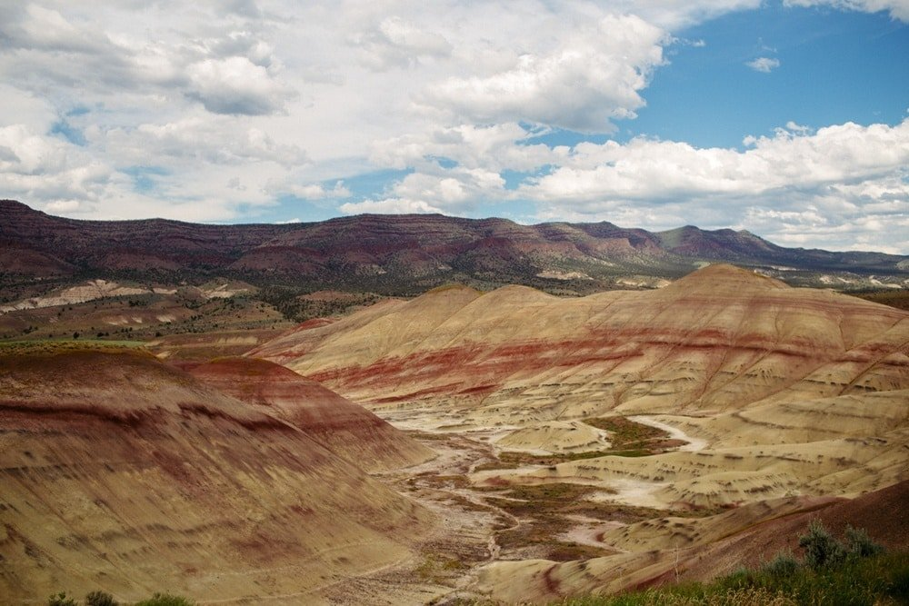Where To Find Free Painted Hills Camping Maps Photos