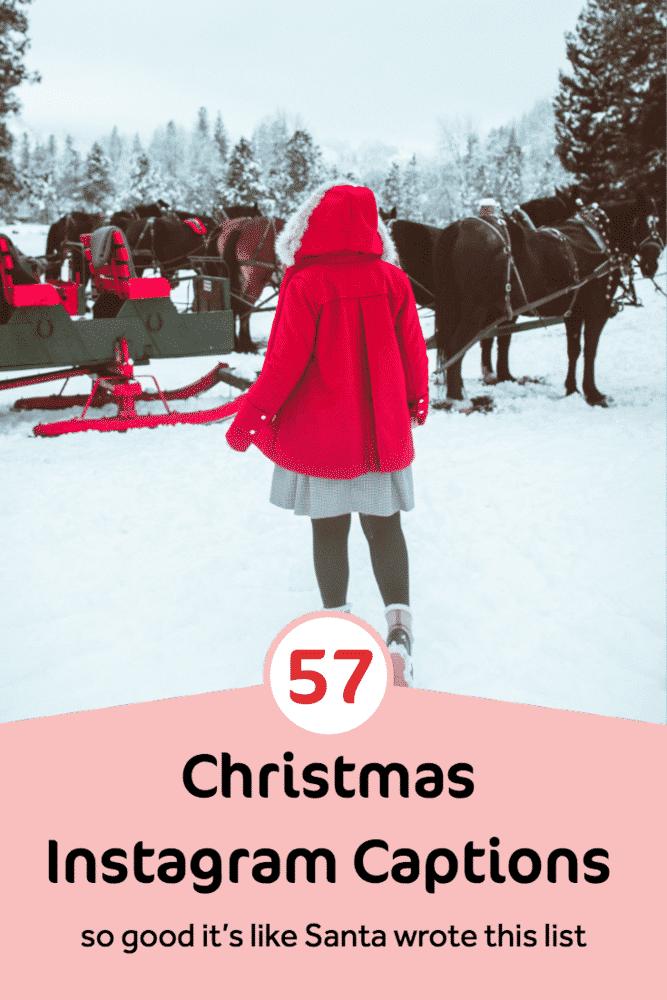 57 Christmas Instagram Captions SO GOOD
